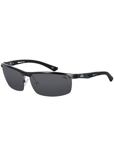 Slazenger 6675.C5 Polarize Erkek Güneş Gözlüğü Siyah